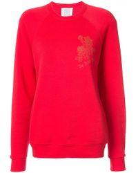 Rosie Assoulin - Floral Print Sweatshirt - Lyst