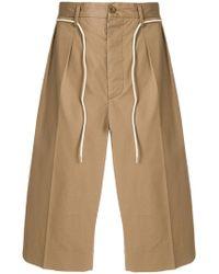 Maison Margiela - Drawstring Tailored Shorts - Lyst