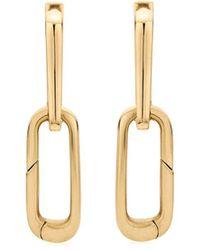 Monica Vinader 18kt Gouden Oorbellen - Metallic