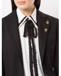 Dolce & Gabbana Spilla con pietra - Metallizzato