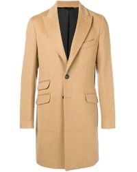 Hevò - Boxy Single-breasted Coat - Lyst