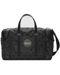 Gucci Off The Grid GG Supreme Duffle Bag - Black