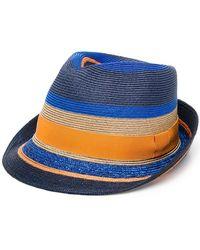 Etro Шляпа С Полосками - Синий