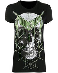 Philipp Plein - Camiseta con estampado gráfico - Lyst
