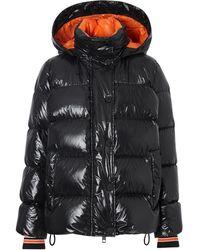 Burberry グラフィック パデッドジャケット - ブラック
