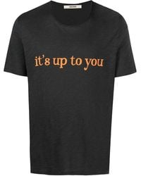 Zadig & Voltaire It's Up To You Tシャツ - グレー