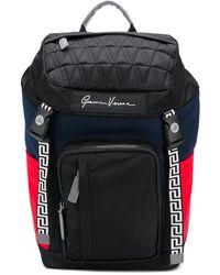 Versace Gv Signature バックパック - ブラック