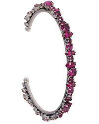 DANNIJO Cielo Cuff Bracelet - Metallic