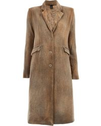 Avant Toi - Classic Single-breasted Coat - Lyst
