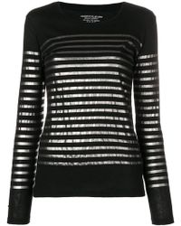 Majestic Filatures - Striped Jumper - Lyst