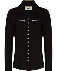 GmbH Gaie Interlock Long-sleeve Shirt - Black