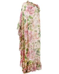 Dolce & Gabbana - ローズ ドレス - Lyst