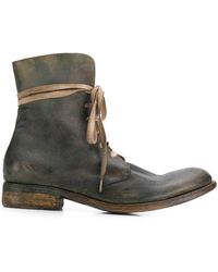 A Diciannoveventitre Bottines Wild Military - Vert