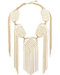 Rosantica - Aquilone Large Fringed Necklace - Lyst