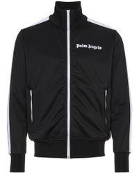 Palm Angels - Striped Logo Track Jacket - Lyst