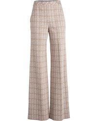 Rosetta Getty Pantalon ample à carreaux - Marron