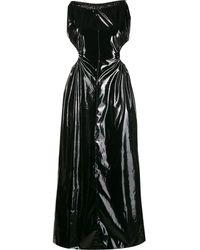 Maison Margiela ホルターネック ドレス - ブラック