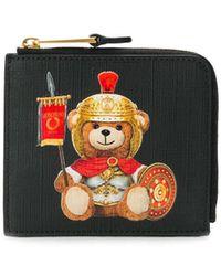 Moschino Roman Teddy Bear 財布 - ブラック