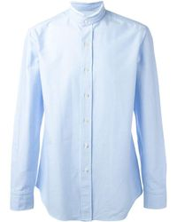 Salvatore Piccolo Classic Shirt - Blue