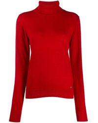 DSquared² Roll-neck Cashmere Jumper - Red