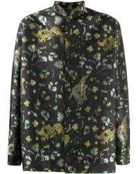 Martine Rose マンダリンカラー シャツ - ブラック
