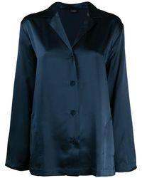 La Perla Silk pajama set - Blau
