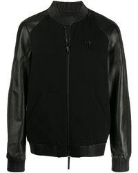 Giuseppe Zanotti ライダースジャケット - ブラック