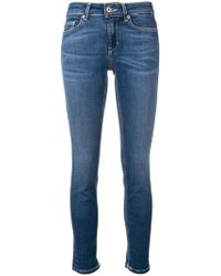 Dondup - Skinny Cropped Jeans - Lyst