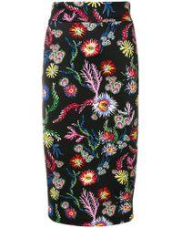 Pinko | Floral Print Skirt | Lyst