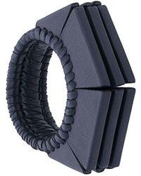 Papieta - Geometric Cuff Bracelet - Lyst