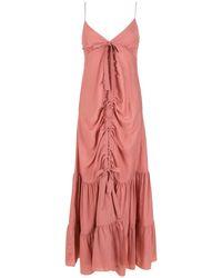Clube Bossa Gerafftes Kleid - Pink