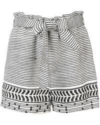 lemlem Maya Embroidered Shorts - Wit