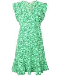 MICHAEL Michael Kors Butterfly Print Dress - Green