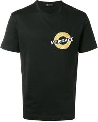 Versace - エンブロイダリーロゴ Tシャツ - Lyst
