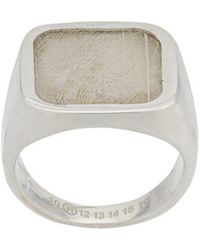 Maison Margiela - Feather Signet Ring - Lyst