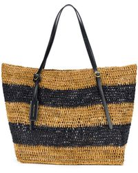 Polo Ralph Lauren - Striped Tote Bag - Lyst