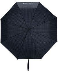 Mackintosh Parapluie à pois - Bleu