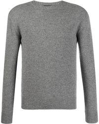 Dell'Oglio Colour Block Sweater - Grey