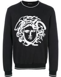 Versace | Painted Medusa Sweatshirt | Lyst