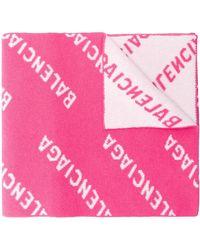 Balenciaga WOLLE SCHAL - Pink