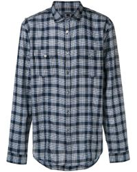 John Varvatos - Check Shirt - Lyst