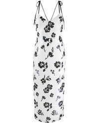 Self-Portrait スパンコール ドレス - ホワイト