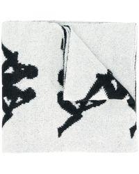 Faith Connexion - X Kappa Logo Knitted Scarf - Lyst