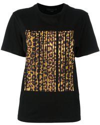 Alexander Wang Bonded Barcode T-shirt - Black