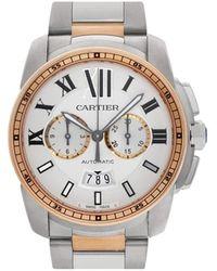 Cartier Reloj Calibre de de 42mm 2009 - Metálico