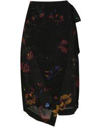Osklen - Printed Midi Skirt - Lyst