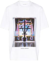 Craig Green カモフラージュ Tシャツ - ホワイト