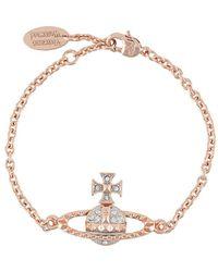 Vivienne Westwood Браслет Mayfair Bas Relief - Розовый