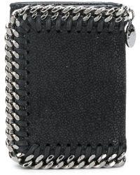 Stella McCartney ファラベラ 三つ折り財布 - ブラック