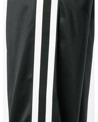 NO KA 'OI Flared Track Pants - ブラック